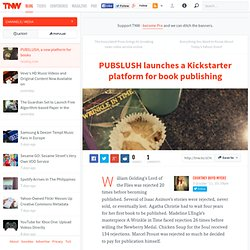 PUBSLUSH launches a Kickstarter platform for book publishing
