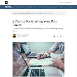 5 free resources every data scientist should start using today