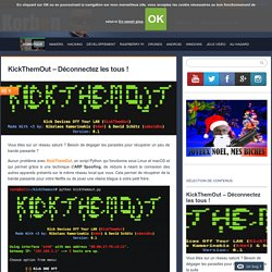 KickThemOut - Déconnectez les tous !