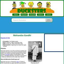 Kid's Biography: Mohandas Gandhi