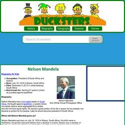Kid's Biography: Nelson Mandela