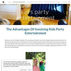 kid's party entertainment
