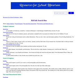 Kid Safe Search Sites