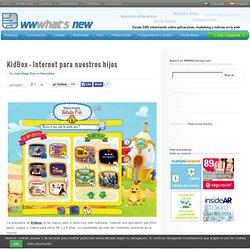 KidBox – Internet para nuestros hijos