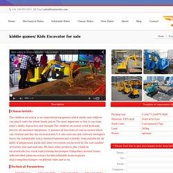 kiddie games/ Kids Excavator for sale