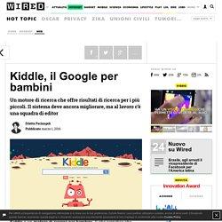 Kiddle, il Google per bambini