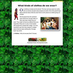 Clothing, The Rainforest