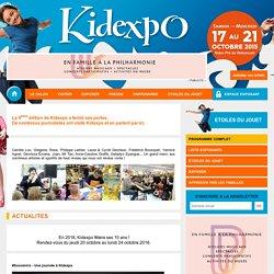 Kidexpo - 17 au 21 octobre 2015 - Paris Porte de Versailles
