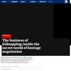The business of kidnapping: inside the secret world of hostage negotiation