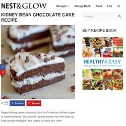 Kidney Bean and Coconut Chocolate Cake Recipe - Vegan and Gluten-free