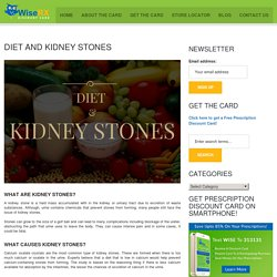Diet and Kidney Stones - WiseRX