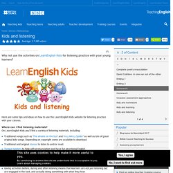Kids and listening