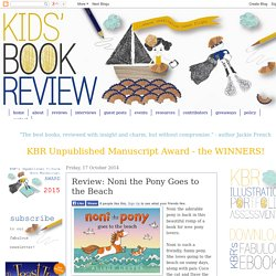 Noni the Pony Goes to the Beach - Shortlisted Early Childhood