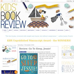 Go To Sleep, Jessie! - Shortlisted Early Childhood