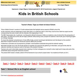 Kids in British Schools