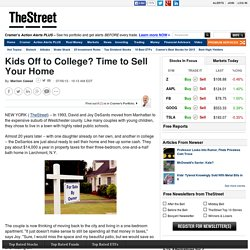 Kids Off to College? Time to Sell Your Home