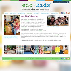 eco-kids - creative play the natural way - about us