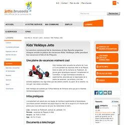 Kids' Holidays Jette — Français