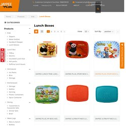 Buy Best Lunch Boxes For Kids From Jaypee Plus