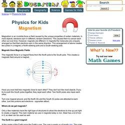 Kids science: Magnetism