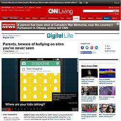Kids using apps like Ask.fm, Kik to cyberbully