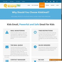 KidsEmail - Features