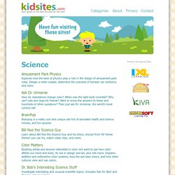 Science Sites for Kids