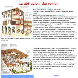 kidslink.bo.cnr.it/ilaria/romani/lecaseromane.htm