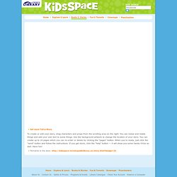 KidsSpace - Toronto Public Library - Tell-a-Story StoryBuilder