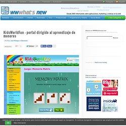 KidsWorldFun – portal dirigido al aprendizaje de menores - Waterfox
