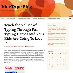 Keyboard Resources For Kids