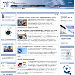 Kiel Institute for the World Economy — Portal
