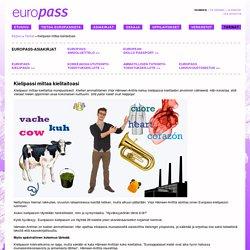 Europassi - Kielipassi mittaa kielitaitoasi