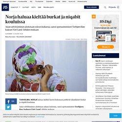 Norja haluaa kieltää burkat ja niqabit kouluissa