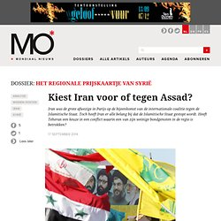 Kiest Iran voor of tegen Assad?