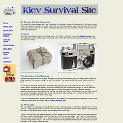 Kiev Survival Site