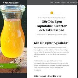 Gör Din Egen Aquafaba; Kikärtor och Kikärtsspad - VegoParadiset