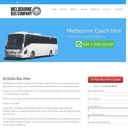St Kilda Bus Hire - Melbourne Bus Company