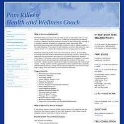 Pam Killeen - Nutritional Balancing