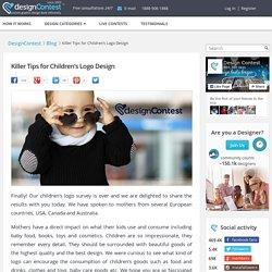 Killer Tips for Children's Logo Design