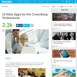 10 Killer Apps for the Coworking Professional