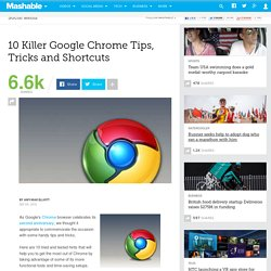10 Killer Google Chrome Tips, Tricks and Shortcuts