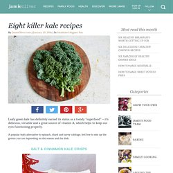 Eight killer kale recipes - Jamie Oliver