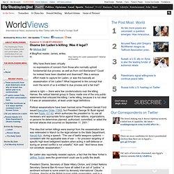 Osama bin Laden's killing: Was it legal? - BlogPost