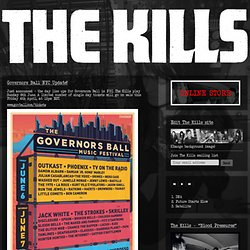 The Kills: Blood Pressures