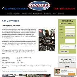 Looking For Kiln Car Wheels Near Mississippi?