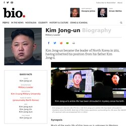 Kim Jong-un - Military Leader
