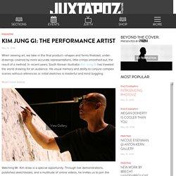 Kim Jung Gi: The Performance Artist