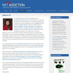 Dr. Kimberly Young Internet Addiction