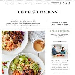 Kimchi Brown Rice Bliss Bowls Recipe